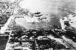 今治港修築竣工空撮(1934)